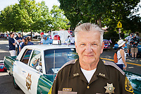 C.W. Wolf, King County Sheriff Department, Auburn Days Parade 2017, Auburn, WA, USA.