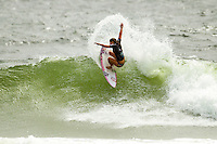 SNAPPER ROCKS, Queensland/Australia (Saturday, March 9, 2013) -Tyler Wright (AUS), 18, has claimed the 2013 Roxy Pro Gold Coast presented by Land Rover over Sally Fitzgibbons (AUS), 22, in punchy two-to-three foot (1 metre) waves at the primary venue of Snapper Rocks..Event No. 1 of 7 on the 2013 ASP Women's World Championship Tour (WCT), the Roxy Pro Gold Coast enjoyed a down-to-the-wire finish today with Wright and Fitzgibbons going head-to-head in a fiercely-fought Final..Despite Fitzgibbons holding the lead for the majority of the heat, Wright secured a wave in the dying moments and tore it apart for a 9.20 out of a possible 10, taking the heat lead and the win..With a win at the opening stop of the year, Wright takes the initial lead in the hunt for the 2013 ASP Women's World Title, but the young natural-footer is focused on enjoying the moment for now..Fitzgibbons, 2012 ASP Women's World Runner-Up, was one of the form surfers of the event and transferred that form into the Final. However, the young South Coast surfer permitted Wright to take the heat-winning wave from under her priority, a mistake that would cost Fitzgibbons dearly..Carissa Moore (HAW), 20, 2011 ASP Women's World Champion, continued with her brand of progressive ripping at the opening event of the season, but it was not enough this morning in her Semifinal clash with Fitzgibbons..Stephanie Gilmore (AUS), 25, reigning five-time ASP Women's World Champion and 2012 Roxy Pro Gold Coast winner, was the favorite heading into this year's opening event and her form until the final day was near flawless. However, the hometown natural-footer was ousted from competition this morning in her Semifinal bout against an in-form Wright.Photo: joliphotos.com