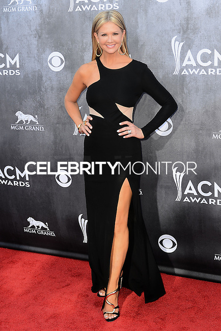 LAS VEGAS, NV, USA - APRIL 06: Nancy O'Dell at the 49th Annual Academy Of Country Music Awards held at the MGM Grand Garden Arena on April 6, 2014 in Las Vegas, Nevada, United States. (Photo by Celebrity Monitor)