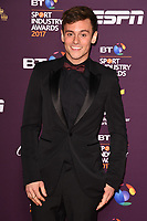 Tom Daly at the BT Sport Industry Awards 2017 at Battersea Evolution, London, UK. <br /> 27 April  2017<br /> Picture: Steve Vas/Featureflash/SilverHub 0208 004 5359 sales@silverhubmedia.com