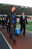 Pictured: Saturday 19 November 2011<br /> Re: Premier League football Swansea City FC v Manchester United at the Liberty Stadium, south Wales.