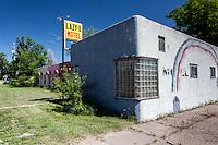 "Old ""LAZY-U MOTEL"" in Broadwater, NE"