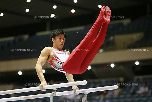 Koji Uematsu, MAY 9, 2014 - Artistic Gymnastics : The 68th All Japan Gymnastics Championship Men's Individual All-Around preliminary at 1st Yoyogi Gymnasium, Tokyo, Japan. (Photo by Yohei Osada/AFLO SPORT) [1156]