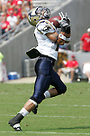 9 September 2006: Akron's David Harvey. Akron defeated North Carolina State 20-17 at Carter-Finley Stadium in Raleigh, North Carolina in an NCAA college football game.