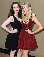 BEVERLY HILLS, CA - JULY 29: Kat Dennings and Beth Behrs attend the CBS, Showtime, CW 2013 TCA Summer Stars Party at 9900 Wilshire Blvd on July 29, 2013 in Beverly Hills, California. (Photo by Celebrity Monitor)