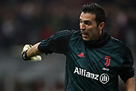 Gianluigi Buffon of Juventus during the Coppa Italia match at Giuseppe Meazza, Milan. Picture date: 13th February 2020. Picture credit should read: Jonathan Moscrop/Sportimage