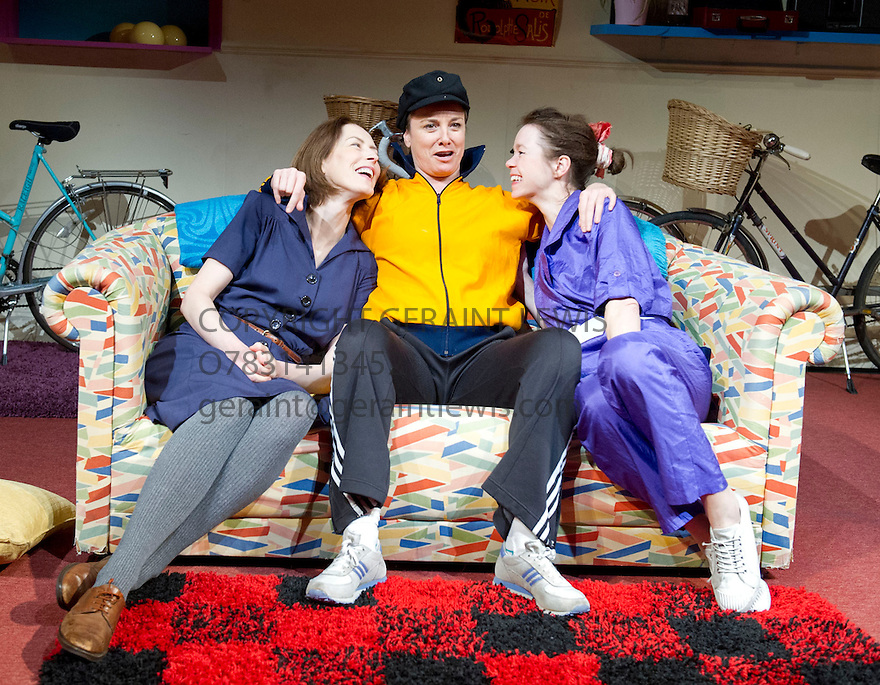 Di and Viv and Rose by Amelia Bullmore, directed by Anna Mackmin. With Gina McKee as Viv, Tamzin Outhwaite as Di, Anna Maxwell Martin as Rose. Opens at The Hampstead Theatre  on 23/1/13. CREDIT Geraint Lewis