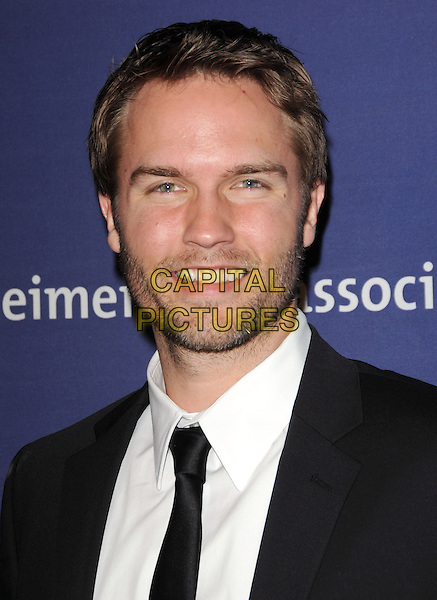 """SCOTT PORTER .at The 18th Annual """"A Night at Sardi's"""" Fundraiser & Awards Dinner held at The Beverly Hilton Hotel in The Beverly Hills, California, USA, March 18th 2010..portrait headshot black tie smiling beard facial hair white shirt                                                        .CAP/RKE/DVS.©DVS/RockinExposures/Capital Pictures."""