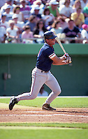 Boston Red Sox Tim Naehring during spring training circa 1992 at Baseball City Stadium in Davenport, Florida.  (MJA/Four Seam Images)