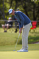 Chesson Hadley (USA) watches his putt on 14 during Round 1 of the Valero Texas Open, AT&amp;T Oaks Course, TPC San Antonio, San Antonio, Texas, USA. 4/19/2018.<br /> Picture: Golffile | Ken Murray<br /> <br /> <br /> All photo usage must carry mandatory copyright credit (&copy; Golffile | Ken Murray)