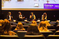 Speakers Catherine D'lgnzaio, Patrick Farrell, Joanne Lasker, and Marr Anne Taylor discuss the power of visual storytelling with the Emerson community.