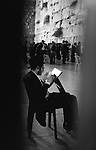 Wailing Wall, evening prayer