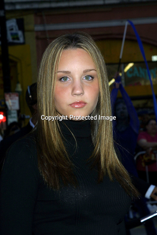 ©2003 KATHY HUTCHINS / HUTCHINS PHOTO.X2:  X-MEN UNITED PREMIERE.GRAUMAN'S CHINESE THEATER.HOLLYWOOD, CA.APRIL 28, 2003.AMANDA BYNES
