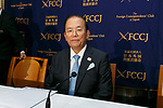 Toshiro Muto, CEO of the Tokyo Organising Committee of the Olympic and Paralympic Games (TOCOG) attends a news conference at the Foreign Correspondents' Club of Japan on July 18, 2017, Tokyo, Japan. Muto spoke about preparations for the Tokyo 2020 Olympic and Paralympic Games and the Nationwide Participation Program to attract more overseas visitors before, during and after the Games. (Photo by Rodrigo Reyes Marin/AFLO)