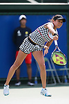 Erika Sema (JPN), .OCTOBER 8, 2012 - Tennis : .HP japan Women's Open Tennis 2012, .Women's Singles first round match .at Utsubo Tennis Center, Osaka, Japan. .(Photo by Akihiro Sugimoto/AFLO SPORT) [1080]