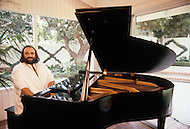 Beverlly Hills, Los Angeles, California - October 13th, 1979. The photograph was taken at Demis Roussos's home in Beverly Hills. Demis Roussos (born June 15, 1946) is a Greek singer and performer who had a string of international hit records. He has sold over 60 million albums worldwide.