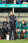 26.10.2019, Stadion Lohmühle, Luebeck, GER, Regionalliga Nord VFB Lübeck/Luebeck vs Hannover 96 II <br /> <br /> <br /> DFB REGULATIONS PROHIBIT ANY USE OF PHOTOGRAPHS AS IMAGE SEQUENCES AND/OR QUASI-VIDEO.<br /> <br /> im Bild / picture shows<br /> Trainer Rolf Martin Landerl (VfB Luebeck)<br /> <br /> Foto © nordphoto / Tauchnitz