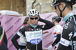 Mark Renshaw (AUS) Omega Pharma-Quick Step at sign on in San Gimignano before the start of the 2014 Strade Bianche race over the white dusty gravel roads of Tuscany, Italy. 8th March 2014.<br /> Picture: Eoin Clarke www.newsfile.ie