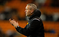 Blackpool's Neil Critchley shouts instructions to his team from the technical area<br /> <br /> Photographer Alex Dodd/CameraSport<br /> <br /> The EFL Sky Bet League One - Blackpool v Tranmere Rovers - Tuesday 10th March 2020 - Bloomfield Road - Blackpool<br /> <br /> World Copyright © 2020 CameraSport. All rights reserved. 43 Linden Ave. Countesthorpe. Leicester. England. LE8 5PG - Tel: +44 (0) 116 277 4147 - admin@camerasport.com - www.camerasport.com