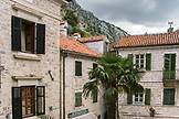MONTENEGRO, Bay of Kotor, Cafe Courtyard in Old Town Kotor, Ben M Thomas