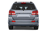 Straight rear view of a 2009 Dodge Journey