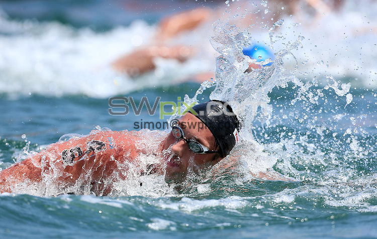 PICTURE BY VAUGHN RIDLEY/SWPIX.COM - Open Water - 15th FINA World Championships 2013 - Moll de la Fusta, Barcelona, Spain - 20/07/13 - New Zealand's Kane Radford competes in the Men's 10km.