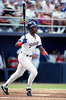 San Diego Padres Fred McGriff during the Major League Baseball All-Star Game at Jack Murphy Stadium  in San Diego, California.  (MJA/Four Seam Images)