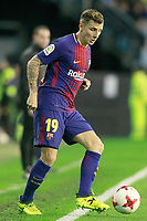 FC Barcelona's Lucas Digne during Spanish Kings Cup match. January 4,2018. (ALTERPHOTOS/Acero)