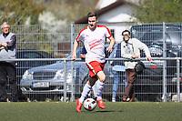 Nils Beisser (Büttelborn) - 07.04.2019: SKV Büttelborn vs. TSV Lengfeld, Gruppenliga Darmstadt