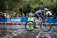 Benoît Cosnefroy (FRA/AG2R-La Mondiale)<br /> <br /> Elite Men Road Race from Leeds to Harrogate (shortened to 262km)<br /> 2019 UCI Road World Championships Yorkshire (GBR)<br /> <br /> ©kramon