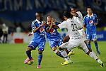 Bogotá- Millonarios  derrotó4 goles por 0 a Fortaleza, en el partido correspondiente a la  fecha 12 del Torneo Clausura 2014, desarrollado en el estadio Metropolitano de Techo, en la noche del 24 de septiembre.