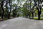 Buenos Aires, Argentina - a Public City park in Downtown Buenos Aires