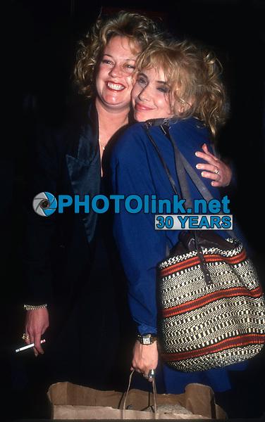 Melanie Griffith and Roseanna Arquette 1985<br /> Photo By John Barrett/PHOTOlink