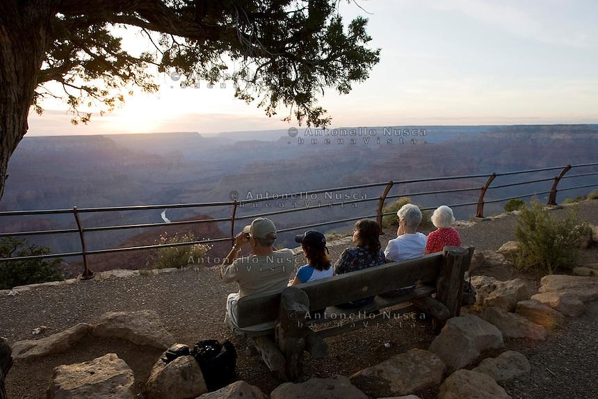 Grand Canyon Arizona, Usa, Giugno 2007.