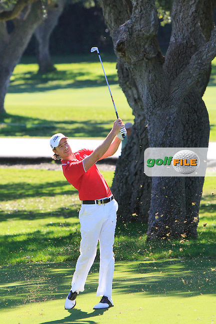 Brett Rumford (AUS) during the 2nd day at the  Andalucía Masters at Club de Golf Valderrama, Sotogrande, Spain. .Picture Denise Cleary www.golffile.ie