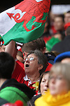 A Welsh supporter in full voice..RBS 6 Nations 2012.Wales v France.Millennium Stadium.17.03.12..CREDIT: STEVE POPE-SPORTINGWALES