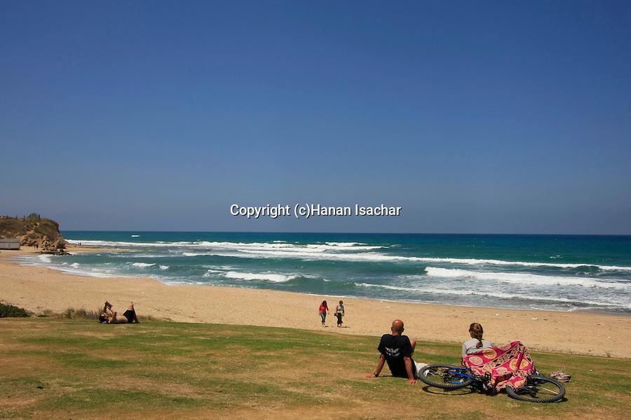 Israel, Southern Coastal Plain, Kibbutz Palmahim on the Mediterranean coast