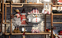 Pictured: Soft toys in the showroom. Thursday 16 November 2017<br /> Re: Festive company which manufactures tinsel in Cwmbran, Wales, UK.