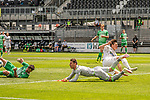 SV SANDHAUSEN - HANNOVER 96 / 2020.05.30 / 2.Bundesliga<br /> <br /> Foto: Poolbilder/CHRISTOPH GOECKEL/PIX-Sportfotos.<br /> <br /> Foto © PIX-Sportfotos *** Foto ist honorarpflichtig! *** Auf Anfrage in hoeherer Qualitaet/Aufloesung. Belegexemplar erbeten. Veroeffentlichung ausschliesslich fuer journalistisch-publizistische Zwecke. For editorial use only. For editorial use only. DFL regulations prohibit any use of photographs as image sequences and/or quasi-video.