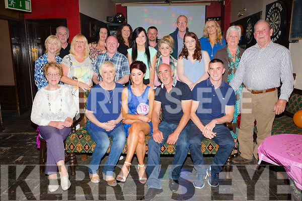 Erika Moran, Tralee, celebrating her 18th birthday with family and friends at Slieve Mish Bar on Saturday