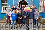 Retirement : Sgt. Brian Fitzgerald celebrating his retirement from An Garda Siochana after more than 30 years in the force with family & friends a Listowel Garda Station on St. Patrick's day.