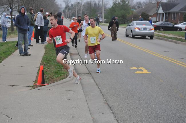 Fast Freddie's Five Mile Foot Feast, New Albany, IN 24 November 2011