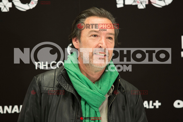 "Gines Garcia Millan attend the Presentation of ""Happy 140"" (Felices 140) Movie at Eurobuilding Hotel, Madrid,  Spain. April 07, 2015.(ALTERPHOTOS/)Carlos Dafonte) /NORTEphoto.com"