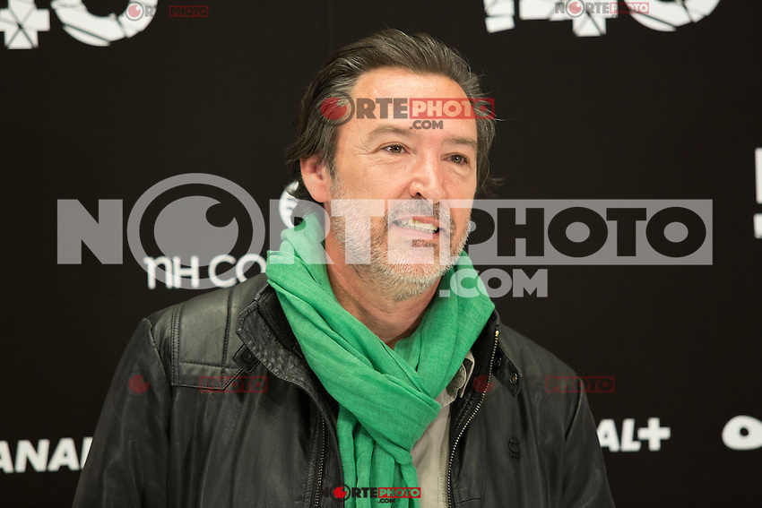 "Gines Garcia Millan attend the Presentation of ""Happy 140"" (Felices 140) Movie at Eurobuilding Hotel, Madrid,  Spain. April 07, 2015.(ALTERPHOTOS/)Carlos Dafonte) /NORTEphoto.com"