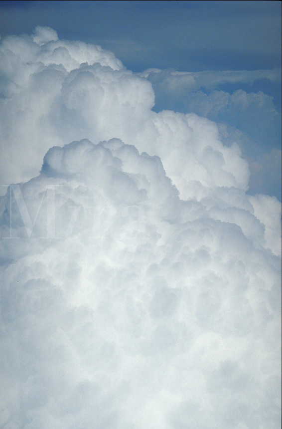 Clouds at appx. 35,000 feet. Scenic, Mood, Inspirational.