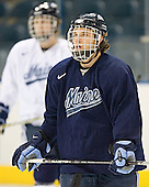 Derek Damon - The University of Maine Black Bears practiced on Wednesday, April 5, 2006, at the Bradley Center in Milwaukee, Wisconsin, in preparation for their April 6 2006 Frozen Four Semi-Final game versus the University of Wisconsin.