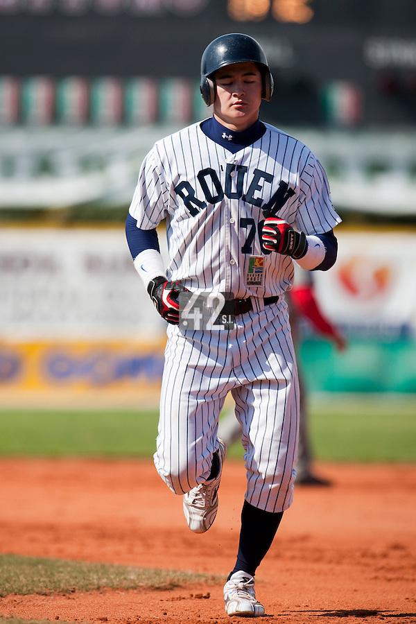 Baseball - European Cup 2009 - Anzio (Italy) - 04/04/2009 - Danesi Caffe' Nettuno v Rouen Baseball '76 - Kenji Hagiwara