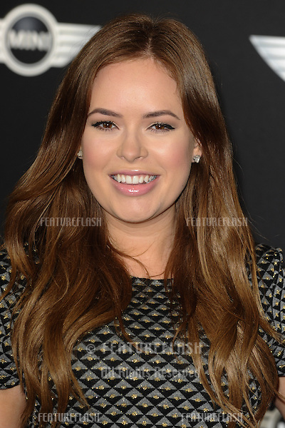 Tanya Burr arriving for the World Premiere Of The New MINI at The Old Sorting Office, London. 18/11/2013 Picture by: Steve Vas / Featureflash