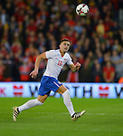 Dusan Tadic of Serbia during the FIFA World Cup Qualifying match at the Cardiff City Stadium, Cardiff. Picture date: November 12th, 2016. Pic Robin Parker/Sportimage