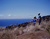 Cyclists take in the view of the leeward side of the Hawaiian island of Maui. Photo by Kevin J. Miyazaki/Redux